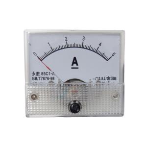 アナログ電流計 DC 5A パネルメーター|kura-parts