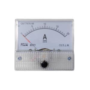 アナログ電流計 DC 20A パネルメーター|kura-parts