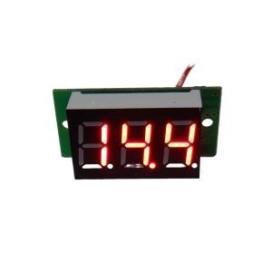 デジタル電圧計 DC4V-DC30V 赤色|kura-parts