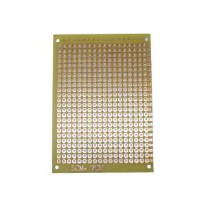 片面ユニバーサル基板(ガラスエポキシ) 70mm×50mm (20枚入り)|kura-parts
