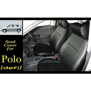 VW 9Nポロ! Polo最高級PVCレザー新品シートカバー|kura1