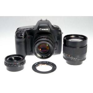 ○対応機種  カメラ:キヤノンEOS  レンズ:コンタックスヤシカ(CY) ○撮影方法  カメラ設定...