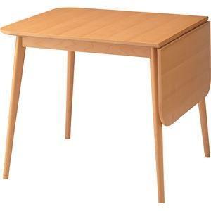 伸長式ダイニングテーブル(ロッキ ドロップリーフテーブル) 木製 TK-113T|kuraki-26