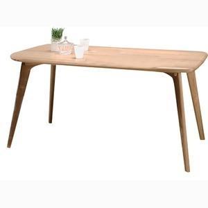 ダイニングテーブル 長方形 木製 4人掛けサイズ CL-817TNA ナチュラル|kuraki-26