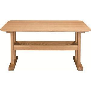 ダイニングテーブル 〔デリカ〕 長方形 木製 4人掛けサイズ HOT-456NA ナチュラル|kuraki-26
