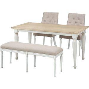 〔単品〕ダイニングテーブル クラッシー 長方形 木製(天然木) CL-467T|kuraki-26