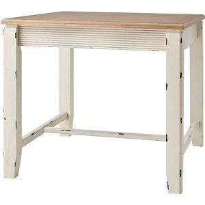 カントリー調ダイニングテーブル 正方形 木製(天然木) COL-018|kuraki-26