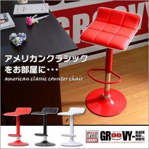 カウンターチェア スタンドチェア 合皮レザー (幅39cm×高さ80cm)|kuraki-26