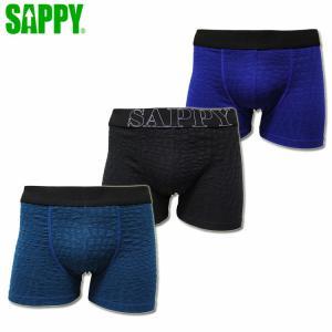 ボクサーパンツ SAPPY サピー クロコ D-324
