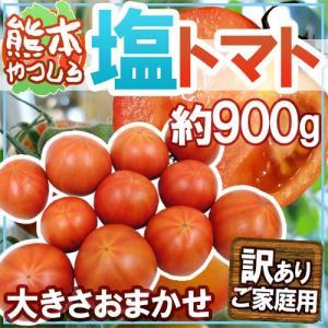 """熊本県やつしろ産 """"塩トマト"""" 訳あり 約900g【予約 2..."""