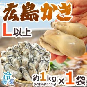"""【送料無料】""""広島産 むき牡蠣"""" 大粒2Lサイズ 30粒前後..."""