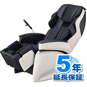 【代引不可】5年延長保証付き【新品】フジ医療器 マッサージチェア AS-1000 BK (ブラック) サイバーリラックス (AS1000BK)|kurashi-kaiteki-jp