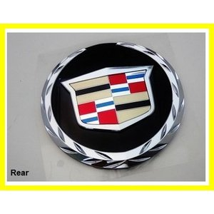 Genuine GM 25759440 Compartment Lid Emblem Rear