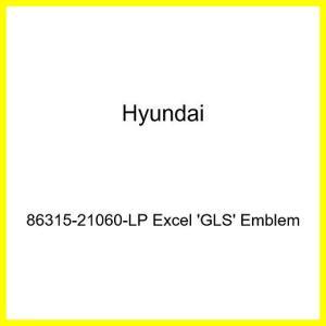 HYUNDAI Genuine 86315-21060-GN Excel GLS Emblem