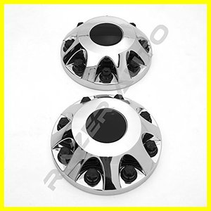 "Razer Auto Chrome 17"" 2pcs Front ホイール Center Hub C..."