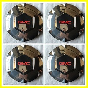 Gosweet 4X Brand NEW Set of 4 Pieces Hubcaps CHROM...