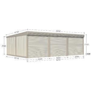 物置 倉庫 屋外 小型  大型  送料無料 収納庫 安い おしゃれ タクボ ガレージ&倉庫   カールフォーマCM−9365 一般型/標準型   配送のみ