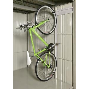 【タクボ物置】 オプション 自転車収納ラック【パネル21用】