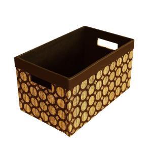 インドネシアでは昔からなじみ深いメンドンという天然素材を使用したボックス。無数に並んだ輪っかが可愛い...