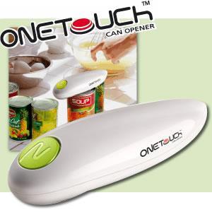 自動缶オープナー ONE TOUCH |kurashi