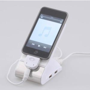 オーム製 モバイル充電スタンド&USB−HUB PC-SHVC-10|kurashi