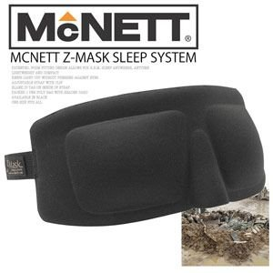 立体型タクティカル・アイマスク McNETT Z-MASK スリープシステム|kurashi