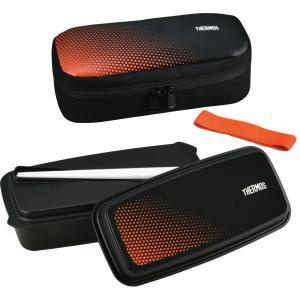 サーモス フレッシュ ランチボックス DJO-600 ブラックオレンジ (BKOR) kurashiichibankan