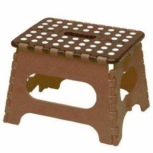 【折りたたみ簡単踏み台】 【椅子としても使えます】 【重さ1kgで超軽量】 【折りたたむと厚さ4.5...