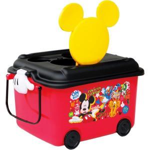 錦化成 おもちゃ箱 ミッキーマウス R-fun  【商品サイズ  幅58×奥行41x高さ34cm】|kurashiichibankan