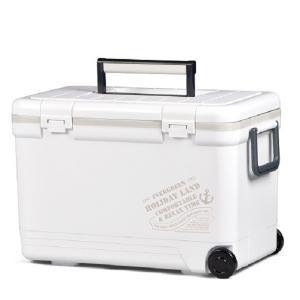 【日本製】 伸和 ホリデーランドクーラー 27H ホワイト クーラーボックス
