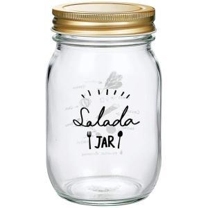 東洋佐々木ガラス HW-522-J301 キッチンジャー 485ml 保存容器 サラダ柄|kurashiichibankan