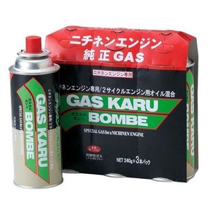 ニチネン ガスカルボンベ 3本組セット|kurashiichibankan