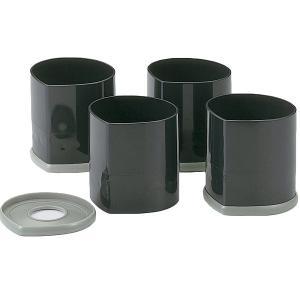 石丸合成樹脂 こたつやテーブルの脚を高さを変えられる ニューハイヒール 4個組|kurashiichibankan