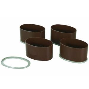 石丸合成樹脂 こたつやテーブルの脚を高さを変えられる ニューハイヒール ワイド 4個組|kurashiichibankan