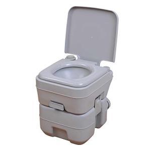 福農産業 水洗ポータブルトイレ20L 本格派ポータブル水洗トイレ 20L PT-20L kurashiichibankan