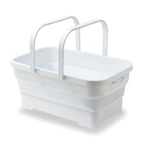 【水が溜められるので、洗濯物の浸け置き洗いやペットのお風呂などに便利。】