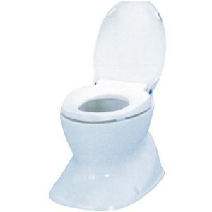 アロン化成 サニタリエースHG据置式 簡易設置洋式トイレ ライトブルー|kurashiichibankan