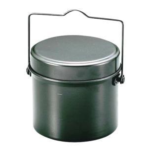 ●4合炊きの丸型飯盒です