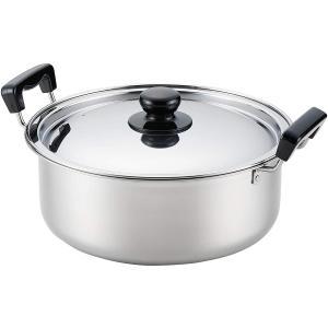 ヨシカワ SH9862 IH対応 煮もの鍋 満菜 両手鍋 26cm 日本製 SGマーク認定|kurashiichibankan