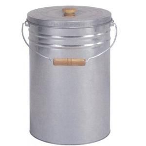 三和金属 トタン丸型米びつ TMK-12 シルバー 12kg|kurashiichibankan