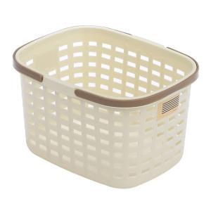 サンカ ランドリーバスケット MSB-MMT ミルクティー|kurashiichibankan
