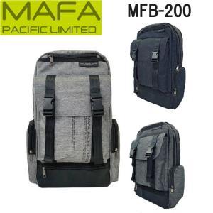 MAFA PACIFIC LIMITED ビジネスリュック スリム メンズ 大容量 通勤 通学 出張 自転車 PC ビジネスバッグ スクエア シンプル おしゃれ 鞄 カバン MFB-200|kurashikan