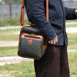 ショルダーバッグ 日本製 A5 合皮 メンズ 斜めがけ 縦型 ビジネスバッグ 出張 斜めがけバッグ メッセンジャーバッグ 男性|kurashikan