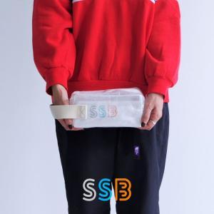 SSB エスエスビー ポーチ Sサイズ バッグ 小物入れ ペンケース 撥水 クリア 化粧ポーチ コスメポーチ 透明 文具 収納 SSB-001の商品画像|ナビ