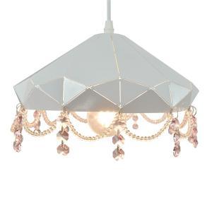 ペンダントライト LED対応 1灯 メタルペンダント シャンデリア風 ライト リビング おしゃれ キラキラ 北欧 インテリア照明 (メーカー直送、代金引き不可)|kurashikan