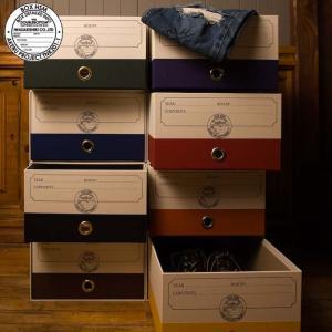 DOUBLEBOTTOM ダブルボトム 衣類収納ボックス 収納ケース 小物入れ 収納箱 ボックス ケース ALEX アレックス 紙製 収納BOX インテリア kurashikan
