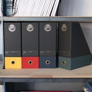 DOUBLEBOTTOM ダブルボトム ファイル収納 収納ボックス 収納BOX 収納 小物入れ 収納箱 ボックス ケース 紙製 収納BOX CATE ケイト ブラック おしゃれ kurashikan