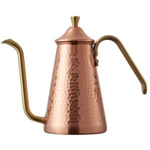 TSUBAME & kalita ドリップポット スリム 700CU 銅 コパー カリタ 燕 日本製 コーヒーポット|kurashikan