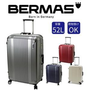 BERMAS バーマス スーツケース 52L 手荷物預ける TSAロック搭載 丈夫 旅行鞄 キャリーバッグ キャリーケース トラベルバッグ トラベルバック|kurashikan