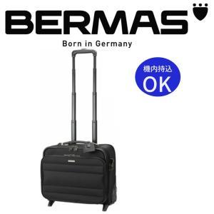 BERMAS バーマス 21L スーツケース 機内持込可 TSAロック搭載 丈夫 旅行鞄 キャリーバッグ キャリーケース トラベルバッグ ビジネス 出張 メンズ 男性 ブラック|kurashikan